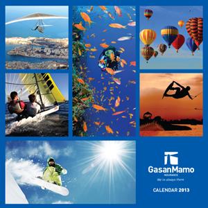 GasanMamo Augmented Reality Calendar 2013